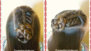 Lace Hair Style hairstyles for girls princess hairstyles 4957 by wearticles.com