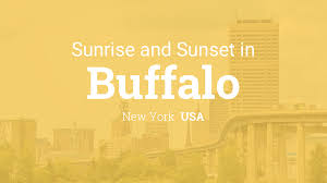 Sunrise And Sunset Times In Buffalo