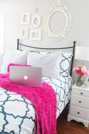 Hot Pink Bedroom Paint Pink And Gold Bedroom Decor Pink Bookcase On The Wallabove
