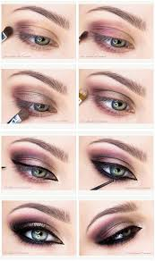 purple and chagne makeup tutorial