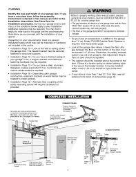 chamberlain 1 2 hp garage door openerGarage Appealing chamberlain garage door opener manual ideas