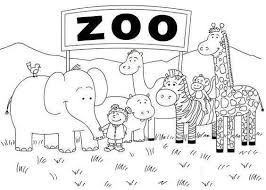Zoo Animal Coloring Pages Fresh Animals Printable Lovely Coloring
