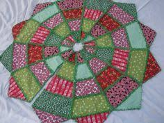 Image result for christmas tree skirt quilt pattern | Tree skirts ... & Rag Quilt- Christmas Tree Skirt Adamdwight.com