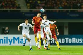home page lagardère sports and entertainment pr vs korea republic during their 2018 fifa world cup russia final qualification round group