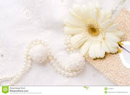 Background Cream Lace Pearls Flower Stock Images Download 105