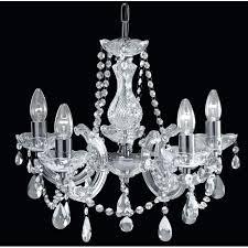 chrome and glass chandelier acrylic 5 light crystal glass chandelier with polished chrome finish chrome glass