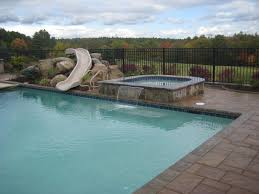 backyard pool with slides. Backyard Pool Slides Cool With Photo Of Model At Ideas W