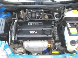 2005 Chevrolet Aveo LT Hatchback Engine Photos | GTCarLot.com