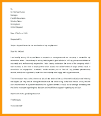 Academic Appeal Letter Magnificent Termination Appeal Letter Academic Dismissal Unfair Template