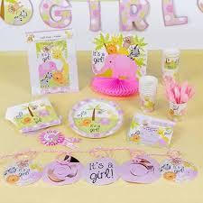 girl jungle theme baby shower