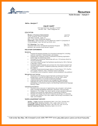 Resume Skills Examples 100 examples of skills for resume xavierax 87