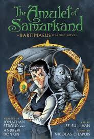 the amulet of samarkand the graphic novel other editions enlarge cover