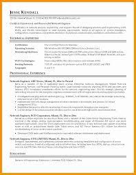 Wimax Engineer Sample Resume Simple Resume Sample For Network Engineer Kenicandlecomfortzone