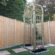 curved garden arch waltons