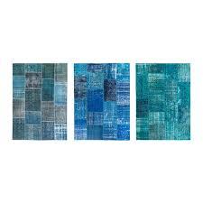 silkeborg rug low pile ikea in blue rugs ikea