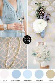 Dusty blue and gold wedding | Dusty blue, Wedding and Gold