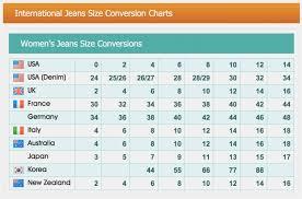 Australian Pant Size Conversion Chart Pant Size Conversion Chart Uk To Us Best Picture Of Chart