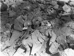 all quiet on the western front     lew ayres and raymond griffith in all quiet on the western front