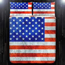America United States USA flag Duvet Cover Bedding Queen Size