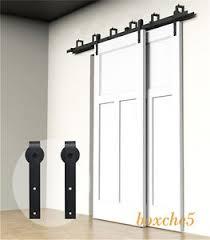 image is loading 4ft 16ft sliding barn door hardware kit closet