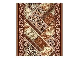 <b>дорожка ковровая Руно</b> 170 1м коричневая - купить по выгодной ...