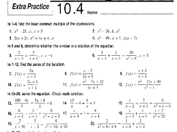 solving quadratic equations 10 4 tessshlo