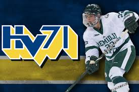 The silver medal was the first in club history. Bsubeavers Com Joyce Inks Contract With Sweden S Hv71 Hockey Club