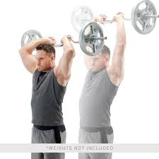 Gym Biceps Workout Chart Tricep Bicep Solid Combo Bar Tbc 51