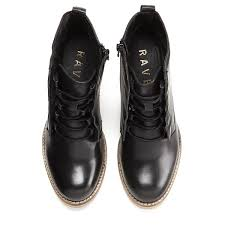 stretchy ravel black women s toronto lace up heeled ankle boots leather delicate