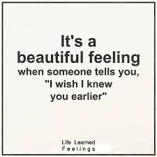 Quotes About Someone Beautiful Best of Frendship Quotes It's A Beautiful Feeling When Someone Tells You I
