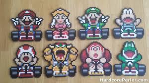 Perler Beads Video Game Patterns