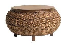 wicker storage coffee table round wicker coffee table with storage photo 1 wicker storage chest coffee