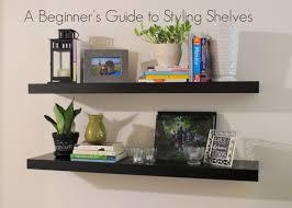 matte black floating shelf shelves survivor styling x large size