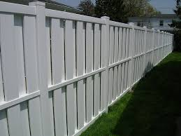 white privacy fence ideas. Vinyl Board On (Shadow Box) Privacy Fence By Elyria White Ideas S