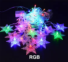 3.8M LED Curtain Snowflake String Lights Fairy 8 Modes Christmas Wedding Party 3.8m led curtain snowflake string lights fairy modes