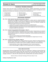 Technical Trainer Resume Corporate Trainer Resume Can Be In Chronological Or Reverse