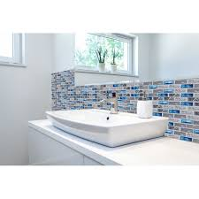 tile backsplash bathroom shower. Fine Backsplash Subway 1x2 Glass Marble Blends Mosaic Tile For Kitchen Backsplash Bathroom  Shower Wall Deco TSTNB03 On Aliexpresscom  Alibaba Group Intended Tile Backsplash Bathroom Shower R
