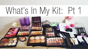 makeup artist series updated what s in my kit pt 1 skincare foundations