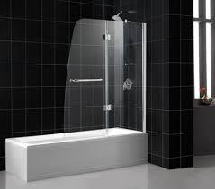dreamline aqua frameless hinged shower tub door
