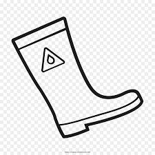 coloring book wellington boot drawing rain boot