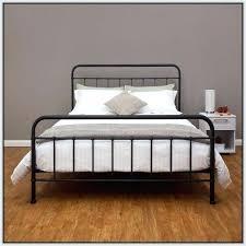Metal Bed Frames Queen Black Metal Bed Frame Black Metal Bed Frame ...