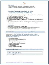 Marketing Resume Sample Lovely Over Cv And Resume Samples With Free