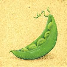 peas in a pod painting
