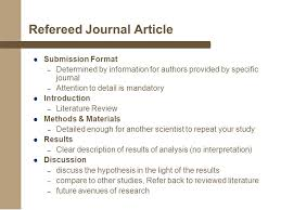 DOING LITERATURE REVIEW DR  FARIZA KHALID  WHAT IS JOURNAL ARTICLE     Subject Guides