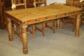 rustic pine dining table inside francis 71 durango trail furniture plans 3