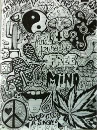 just free your mind cool drawings trippy drawings drawings phycadelic art
