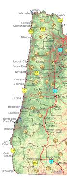 Maps Of Oregon For Sale Highways And Byways Of Oregon