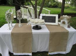 image of popular burlap table runners