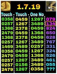 Vip Thai Lottery Touch Paper 1 7 2019 Prizebondwin