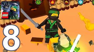THE LEGO NINJAGO MOVIE - Gameplay Walkthrough Part 8 - Lloyd (iOS, Android)  - YouTube